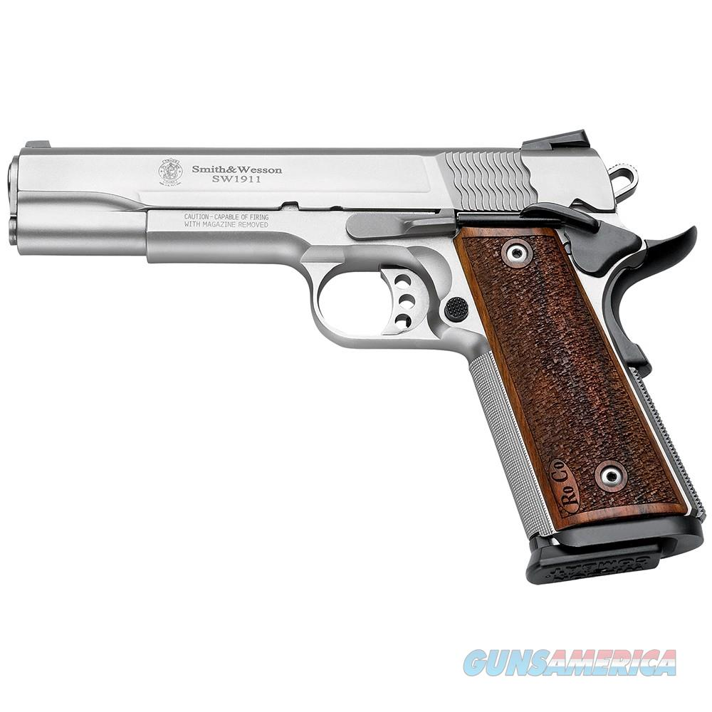 Smith & Wesson 178017 1911 PS Pistol 9mm 5in 10rd Stainless  Guns > Pistols > Smith & Wesson Pistols - Autos > Steel Frame