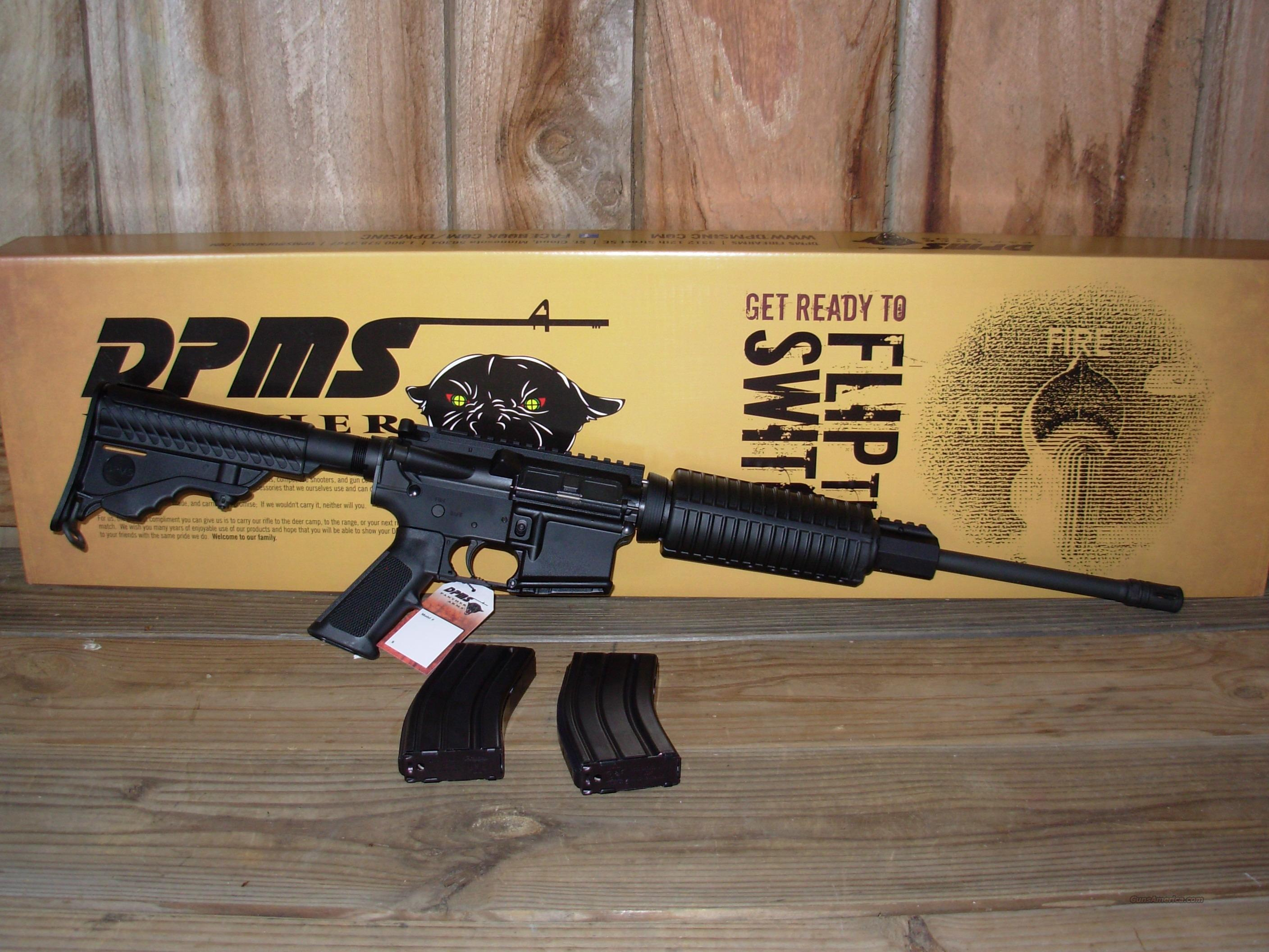 NIB DPMS Panther Arms AR-15 Oracle .223 2 Mags  Guns > Rifles > DPMS - Panther Arms > Complete Rifle