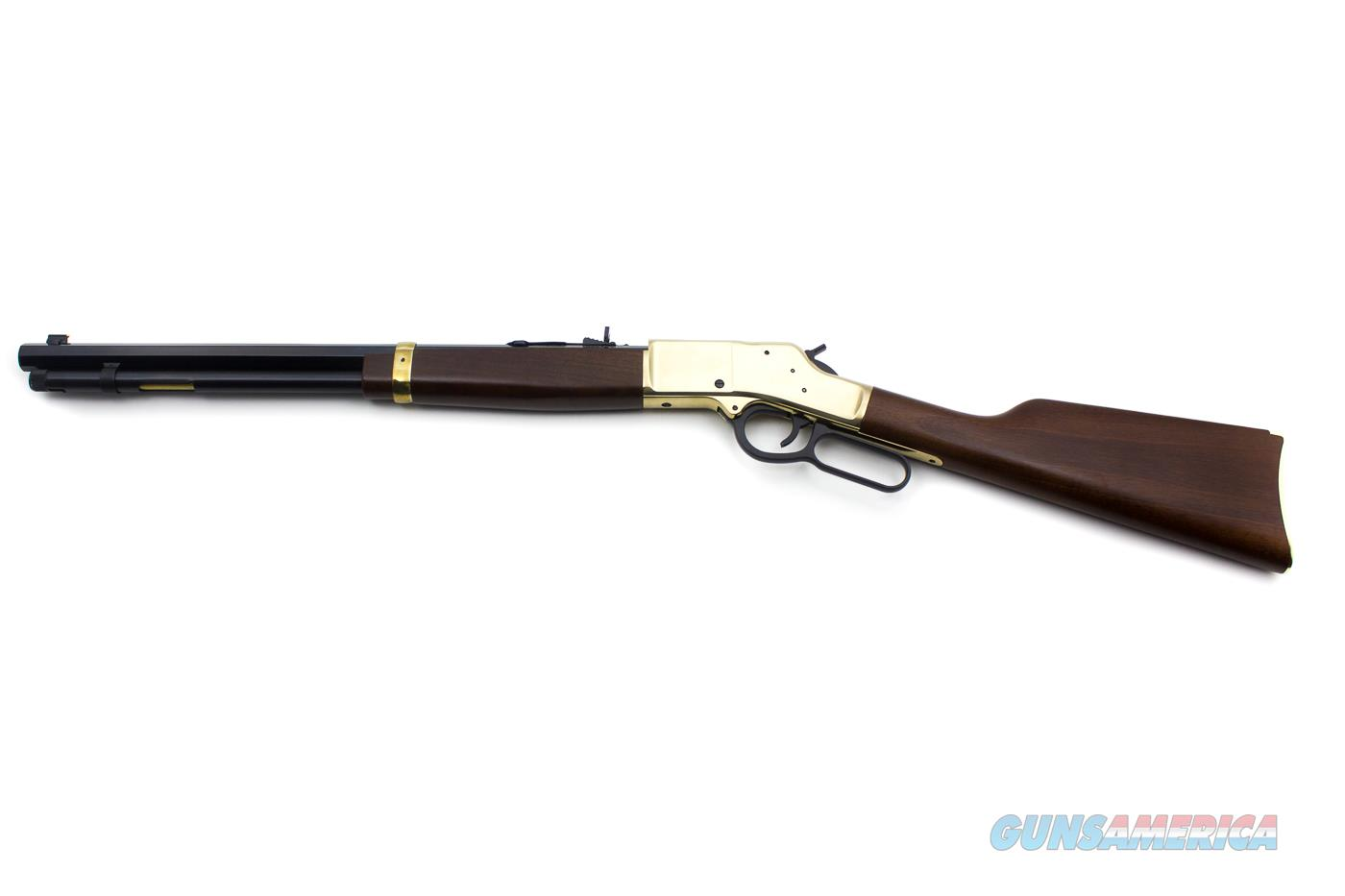 "Henry Repeating Arms Big Boy Model H006M Lever Action Rifle .357 Magnum 20"" Octagon Barrel 10 Rounds American Walnut Stock Brass Finish  Guns > Rifles > Henry Rifle Company"