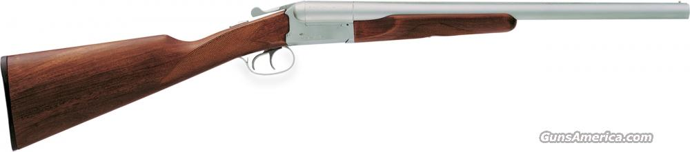 "STOEGER SILVERADO COACH GUN 12 GA 20"" MATTE STAINLESS BARRELS W/ ENGLISH STOCK  Guns > Shotguns > Stoeger Shotguns"