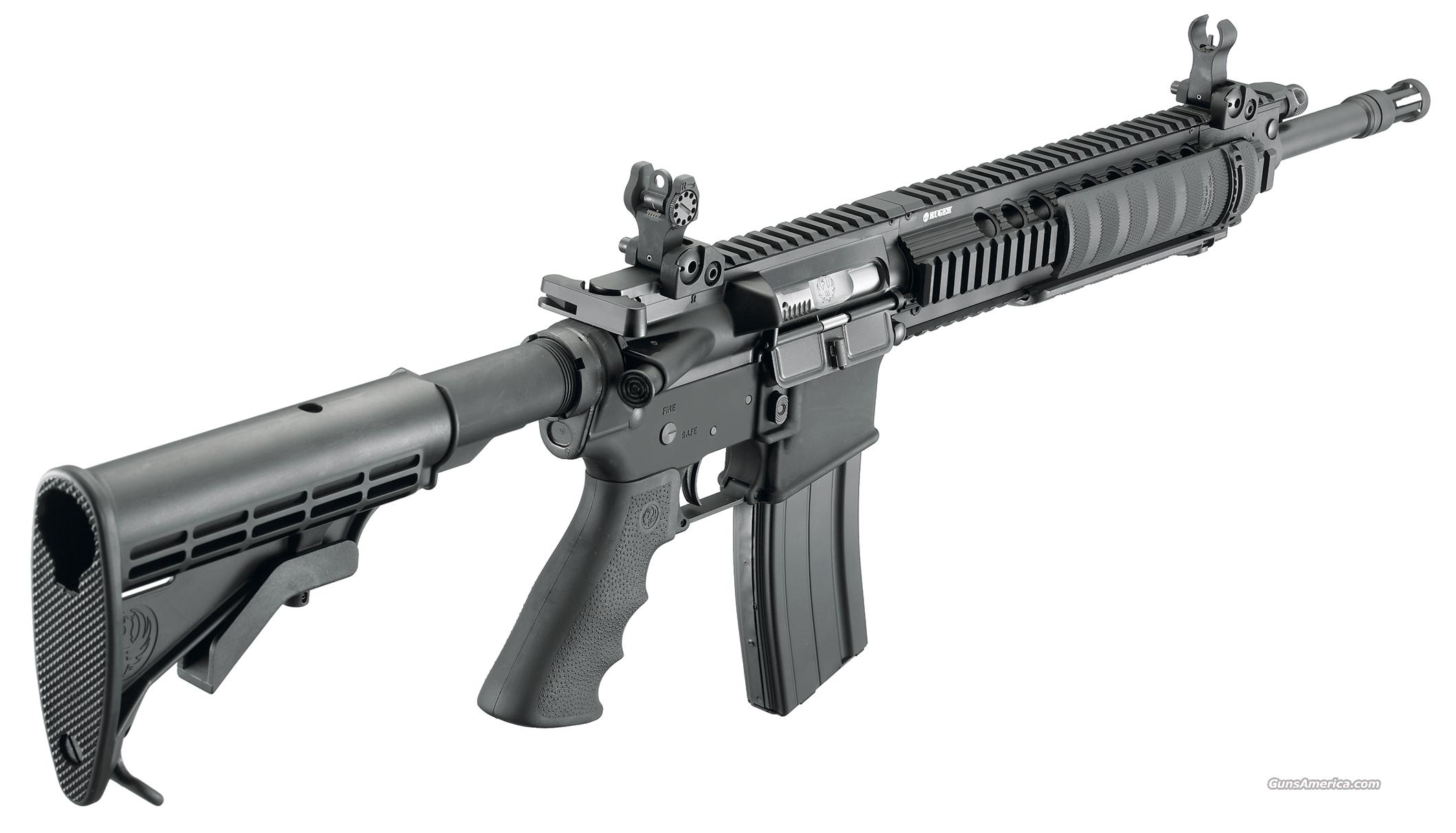 "RUGER SR556 FB RIFLE, AR15 CARBINE 16"", 223/5.56  Guns > Rifles > Ruger Rifles > SR-556"