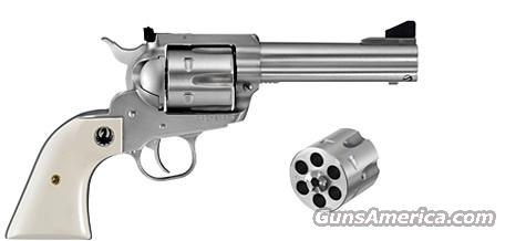 "Ruger Flattop 45 Colt / 45 ACP Convertible Stainless 4-5/8""  Guns > Pistols > Ruger Single Action Revolvers > Blackhawk Type"