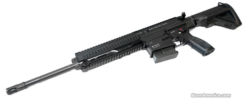 HK MR762-A1 7.62 16.5 Flat Top 10RD - HECKLER & KOCH USA  Guns > Rifles > Heckler & Koch Rifles > Tactical