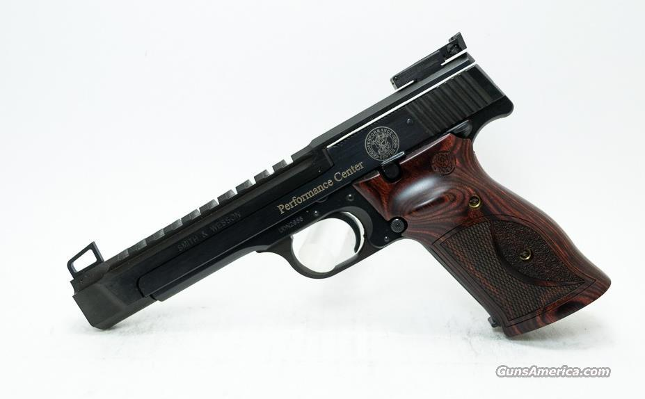 "Smith & Wesson 178031 Perfmnce Cntr 41 22LR 5.5"" 10+1 Wood Trgt Grips Blued 178031  Guns > Pistols > Smith & Wesson Pistols - Autos > Steel Frame"