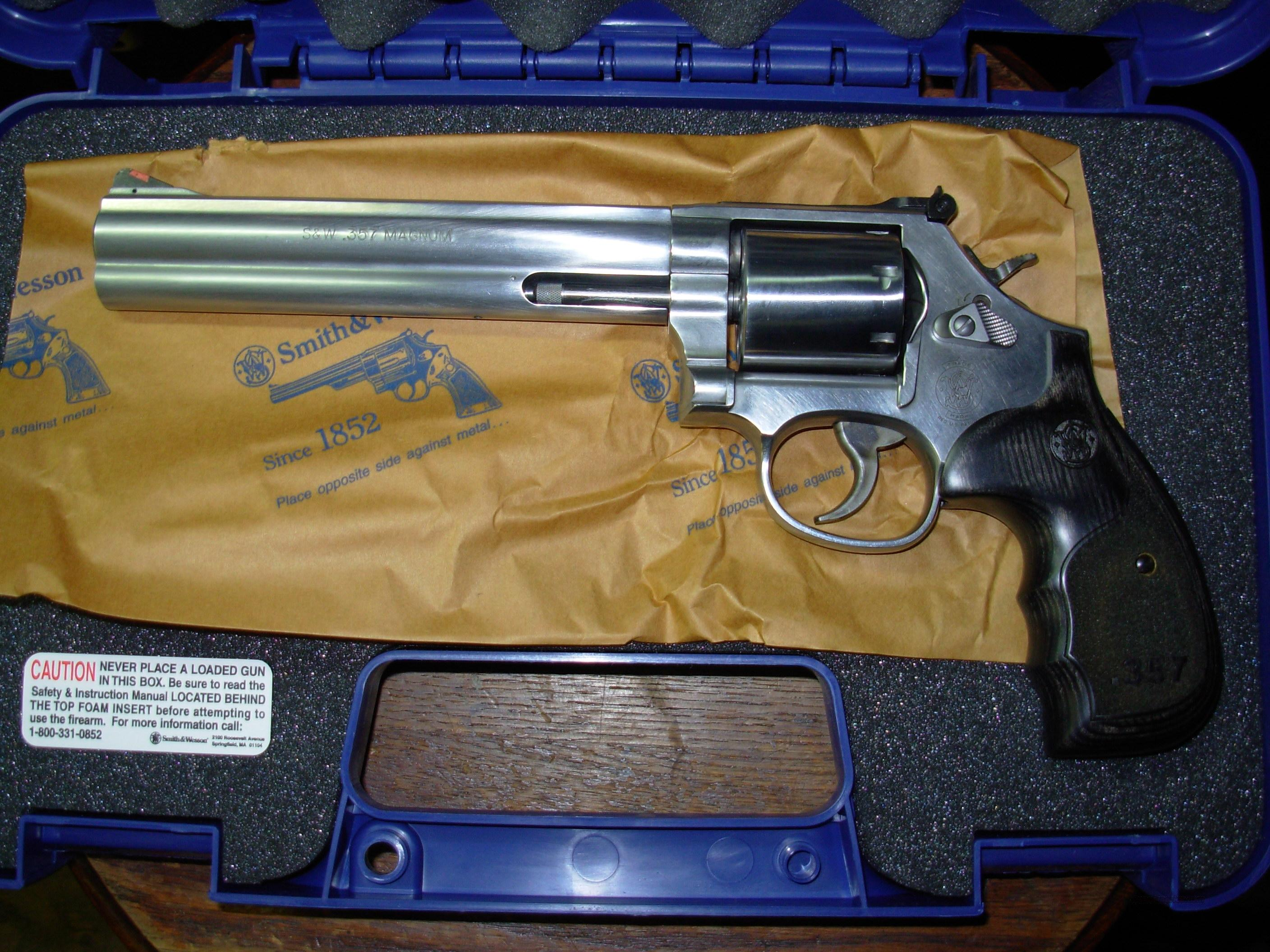 "S&W 686 Plus SS Talo 357Mag 7"" 7-Shot 150855   Guns > Pistols > Smith & Wesson Revolvers > Full Frame Revolver"