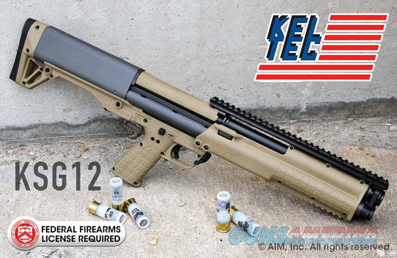 Kel Tec KSG Tactical Shotgun 14 rounds TAN NEW IN BOX  Guns > Shotguns > Kel-Tec Shotguns > KSG