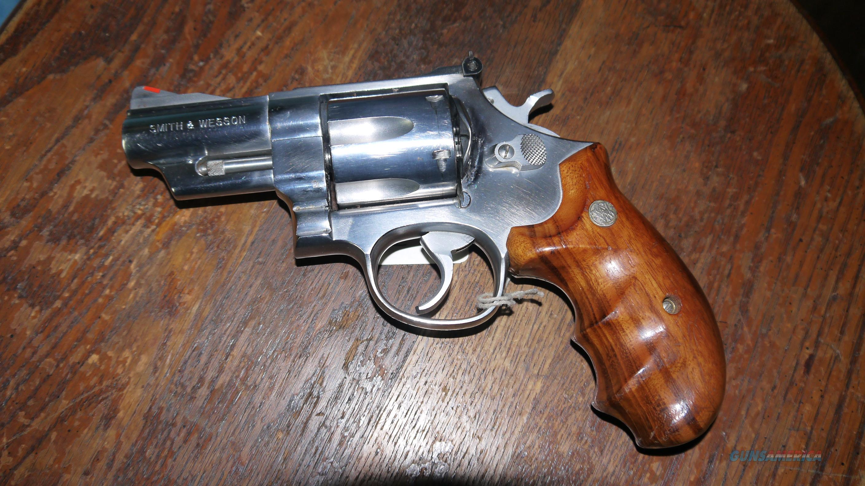 Excellent Stainless Smith & Wesson 629-1 44 Magnum 3 inch Revolver S&W  Guns > Pistols > Smith & Wesson Revolvers > Full Frame Revolver