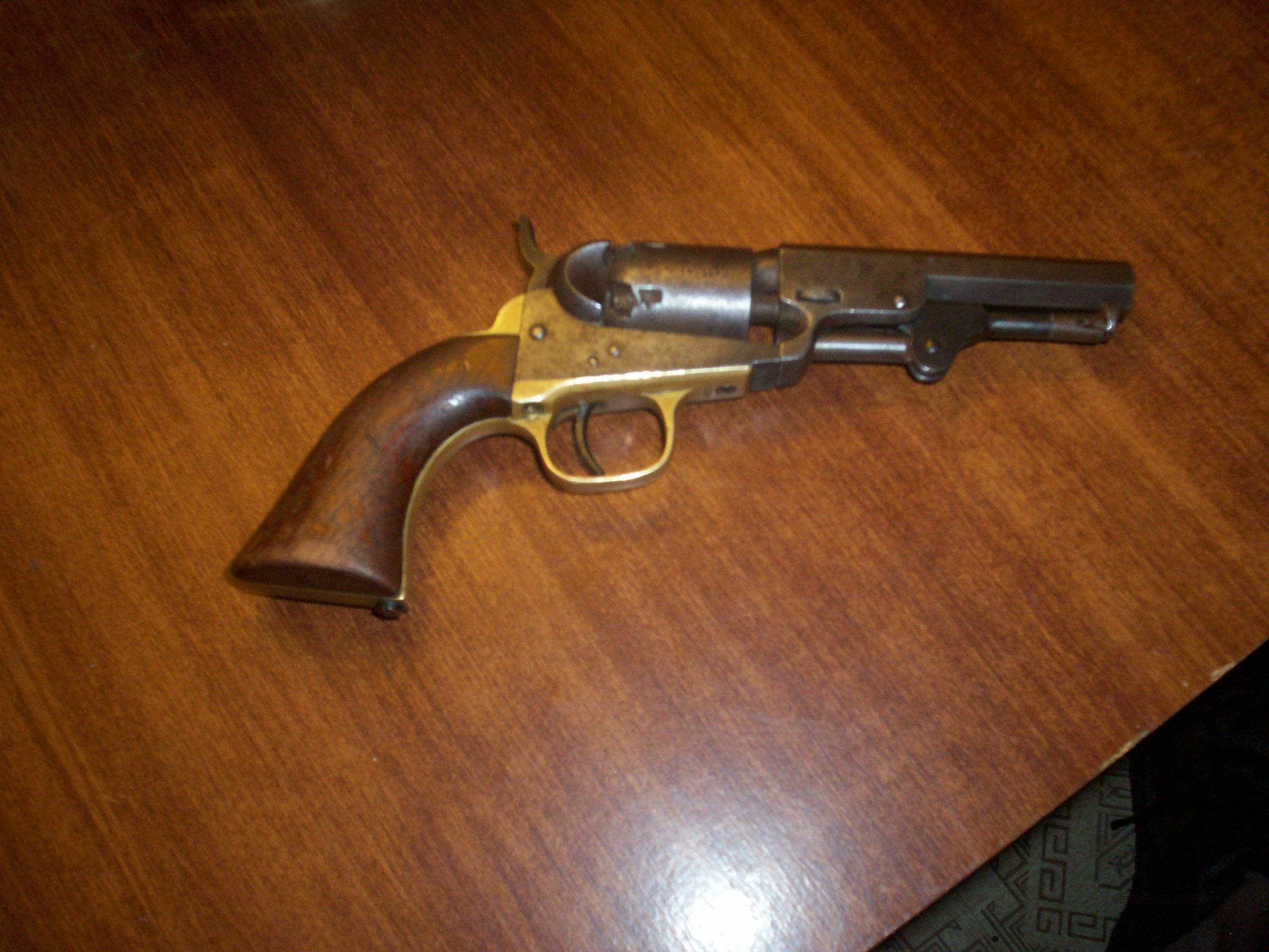 colt 1849 pistol  Guns > Pistols > Antique (Pre-1899) Pistols - Perc. Misc.