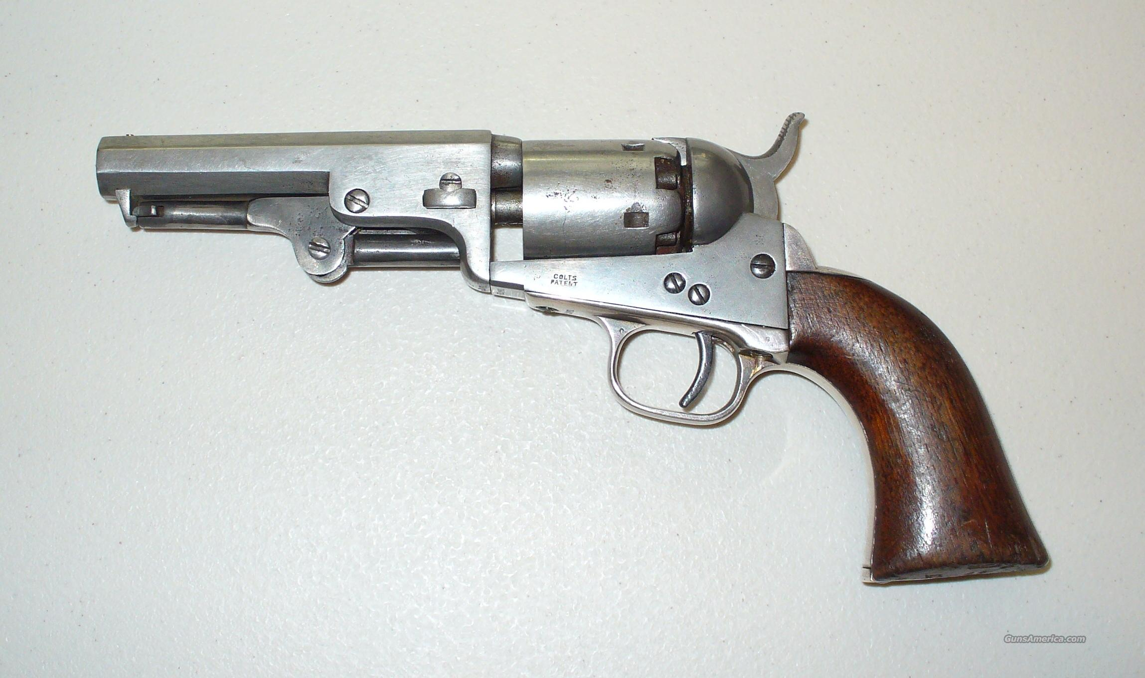 Colt Model 1849 Pocket Revolver  Guns > Pistols > Colt Percussion Revolver - Pre-1899