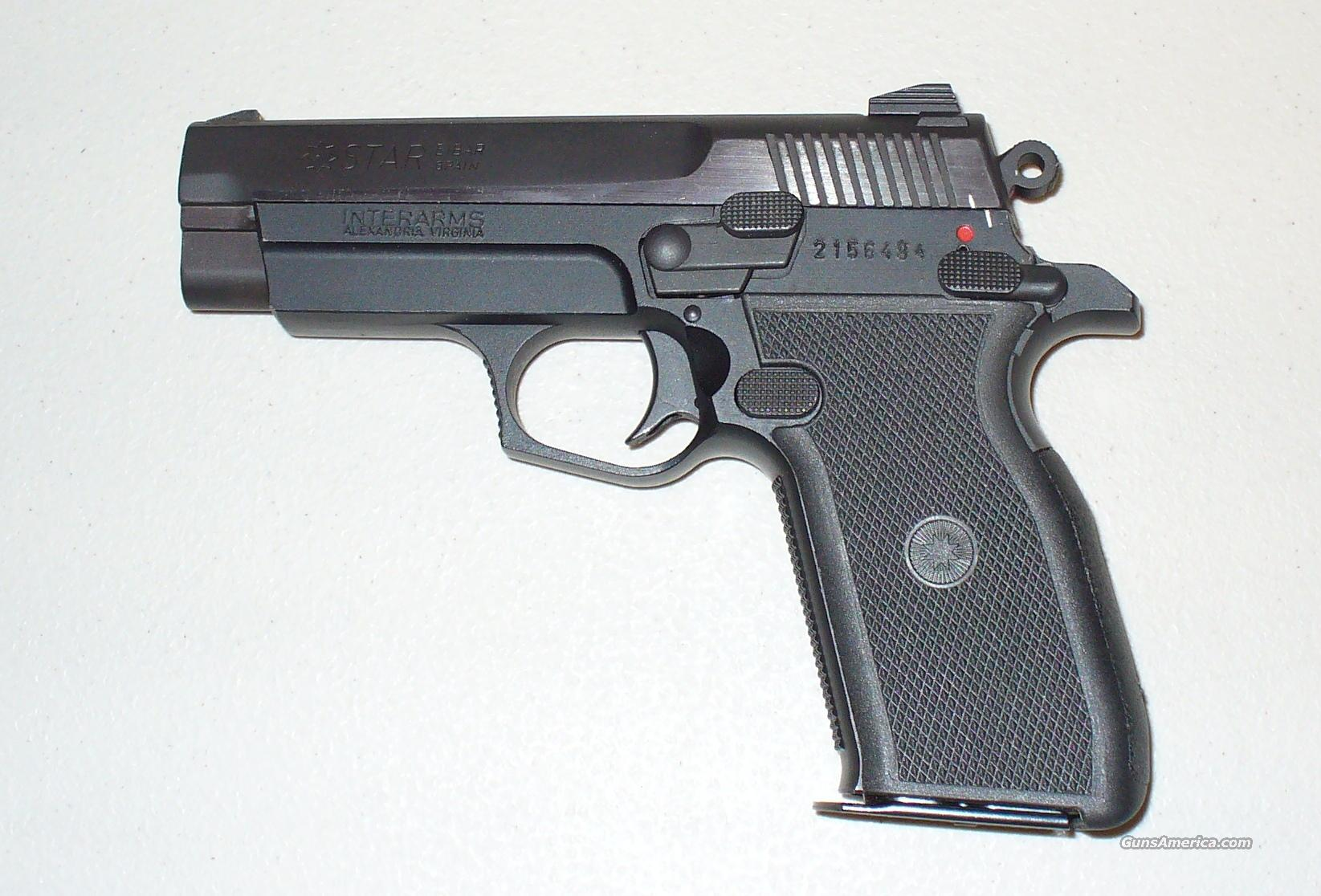 Star Firestar Plus 9mm Pistol  Guns > Pistols > Star Pistols
