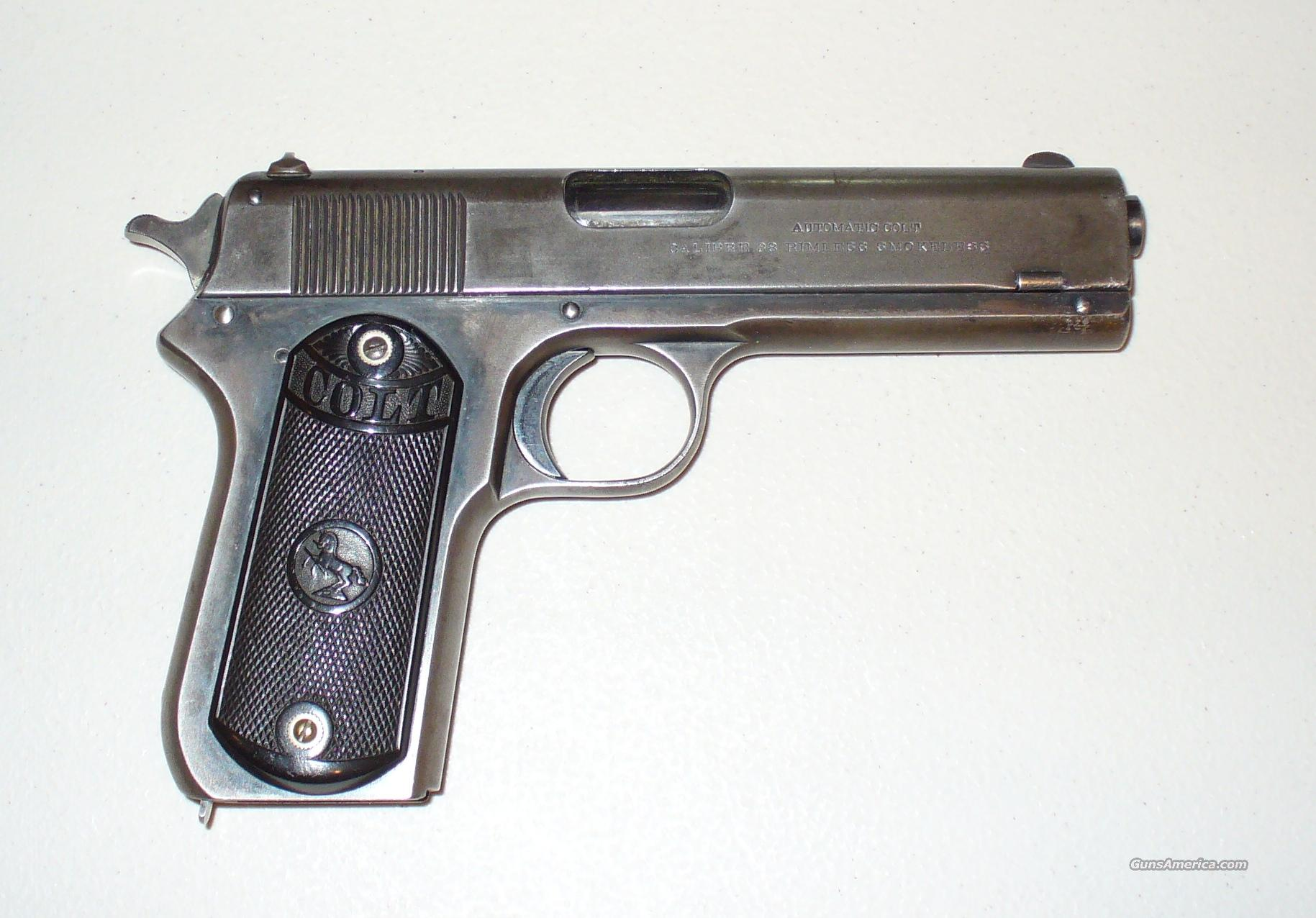 Colt Model 1903 Pocket Hammer  Guns > Pistols > Colt Automatic Pistols (1911 & Var)