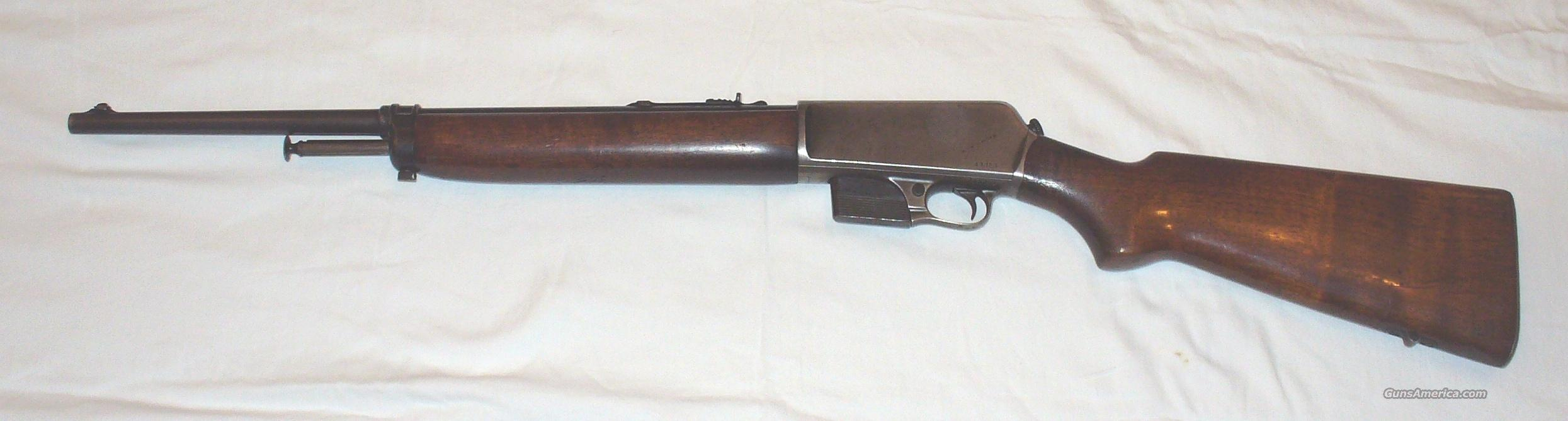 Winchester Model 1907 SL Semi-Auto Rifle  Guns > Rifles > Winchester Rifles - Modern Bolt/Auto/Single > Autoloaders