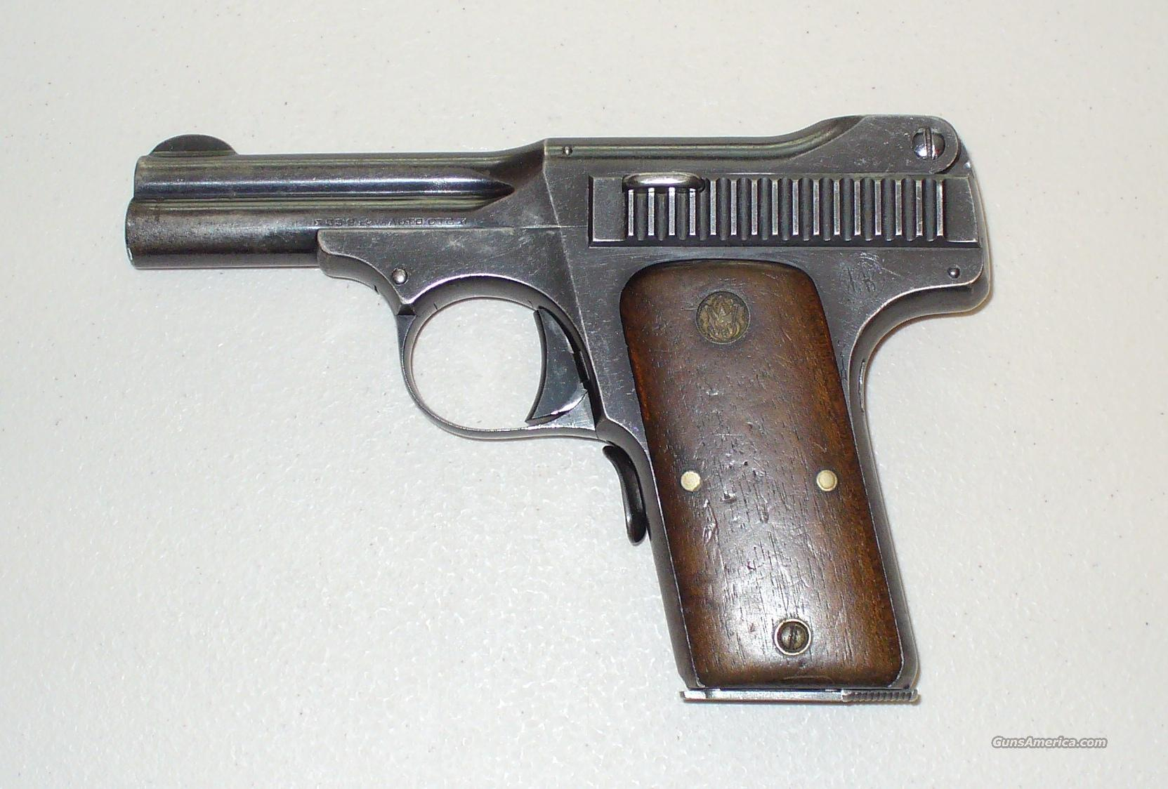 Smith & Wesson Model 1913 .35 Auto Pistol  Guns > Pistols > Smith & Wesson Pistols - Autos > Steel Frame