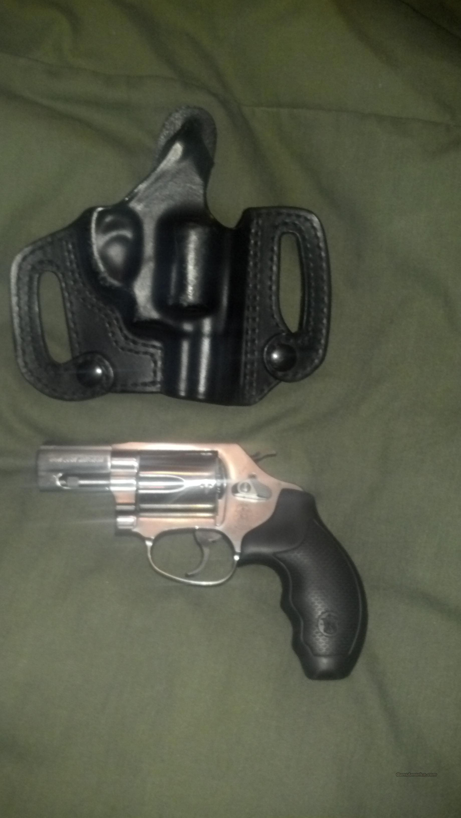 Smith and Wesson Model 60 .357 plus holster  Guns > Pistols > Smith & Wesson Revolvers > Pocket Pistols
