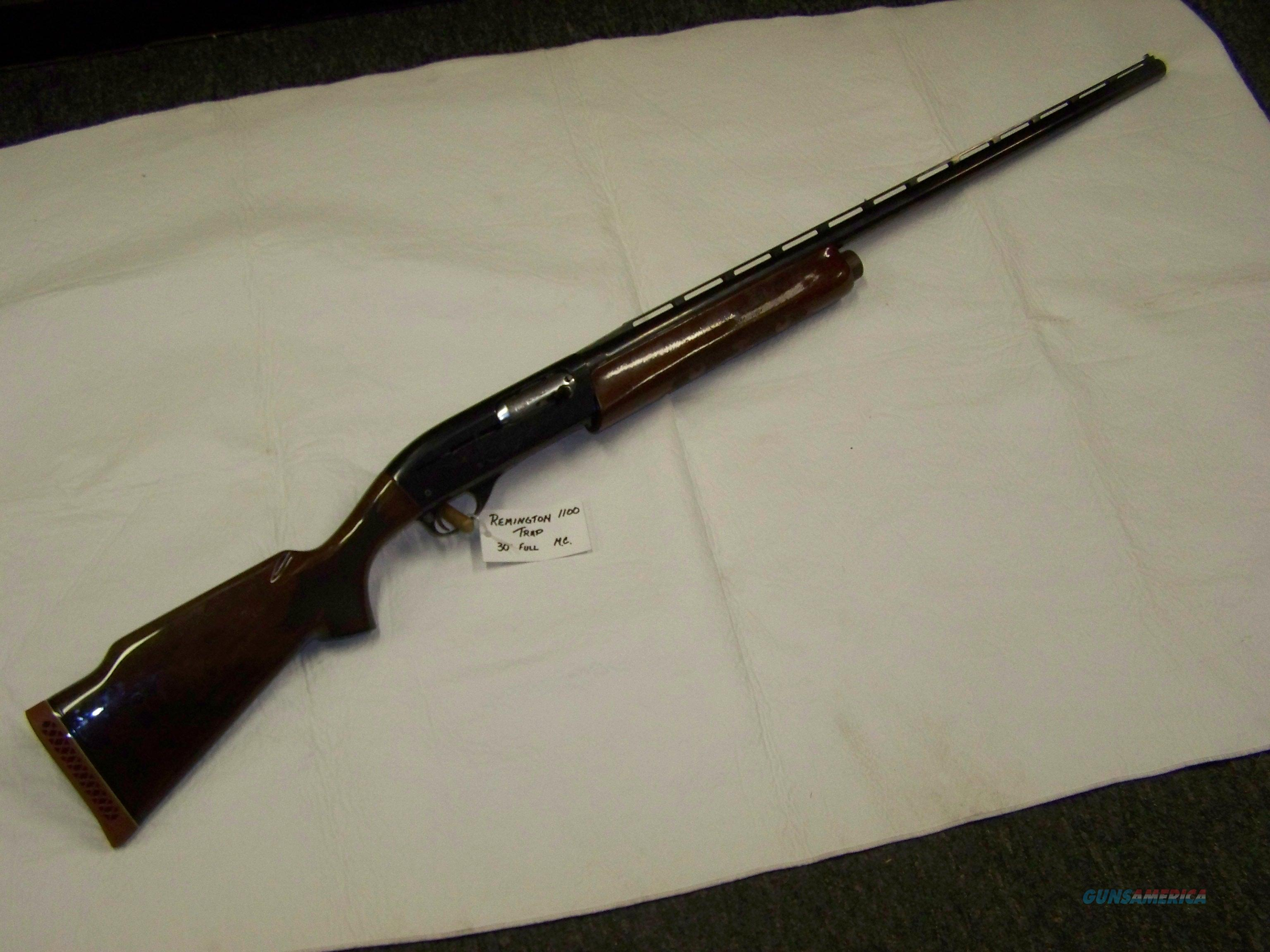 Remington 1100 Trap  Guns > Shotguns > Remington Shotguns  > Autoloaders > Trap/Skeet