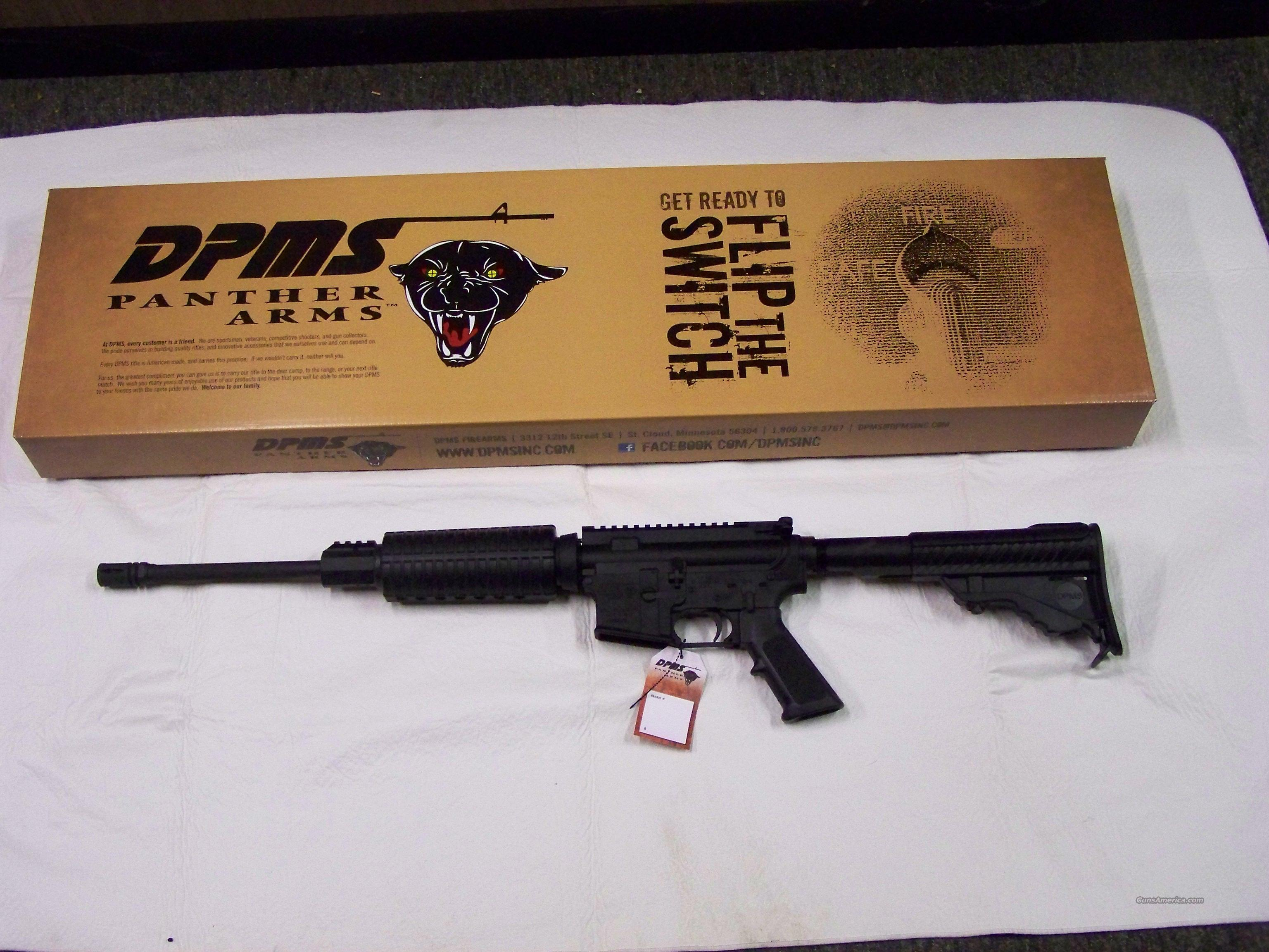 DPMS Panther Arms AR-15  Guns > Rifles > AR-15 Rifles - Small Manufacturers > Complete Rifle