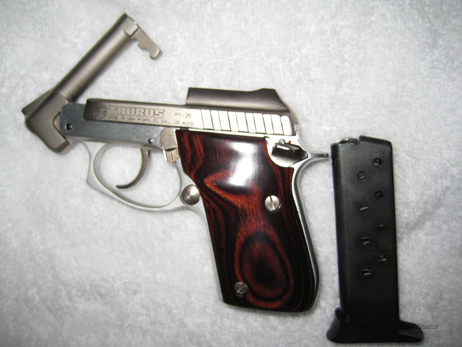 .25ACP TAURUS PT-25 NEW 9 Round  Guns > Pistols > Taurus Pistols/Revolvers > Pistols > Steel Frame