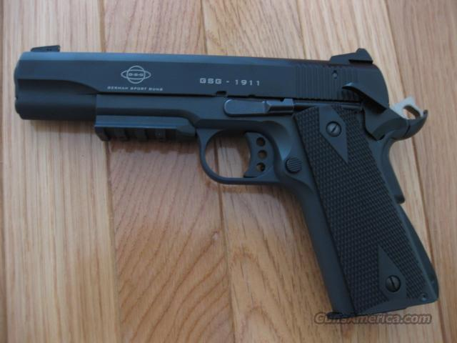 Practically New GSG 1911 style 22cal  Guns > Pistols > 1911 Pistol Copies (non-Colt)