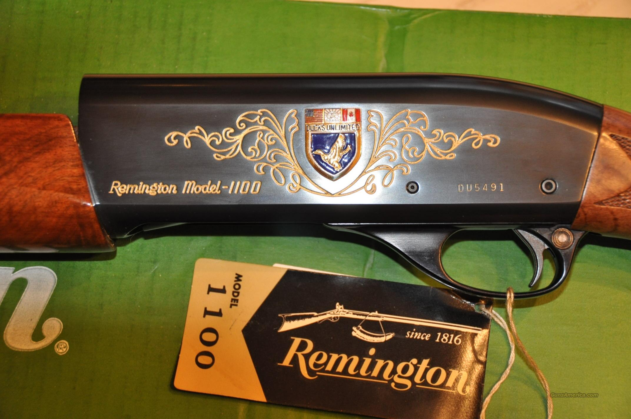 Remington 1100 Ducks Unlimited 12 ga, NIB  Guns > Shotguns > Remington Shotguns  > Autoloaders > Trap/Skeet