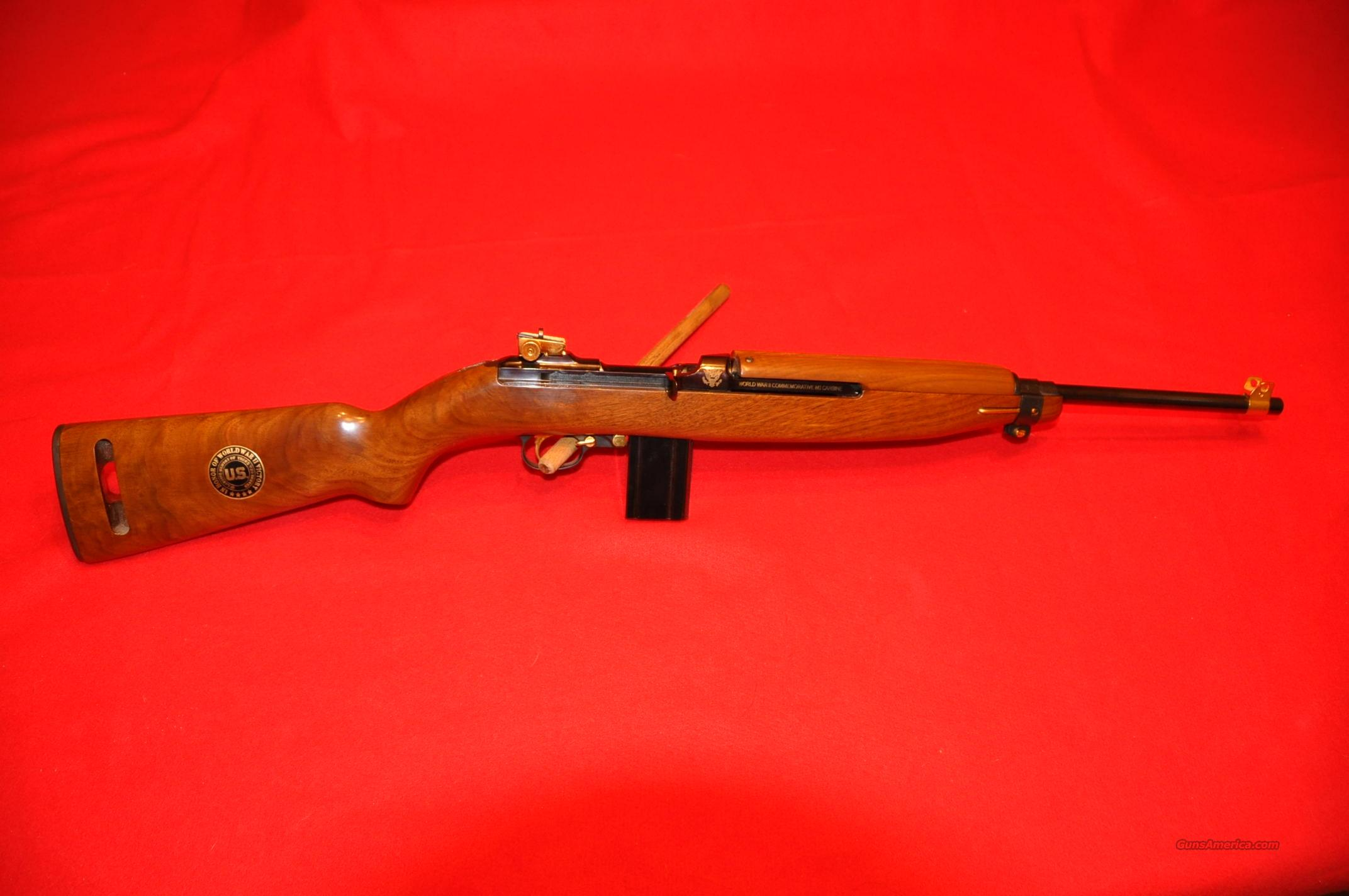 WWII Commemorative M1 Carbine, Unfired!  Guns > Rifles > Iver Johnson Rifles