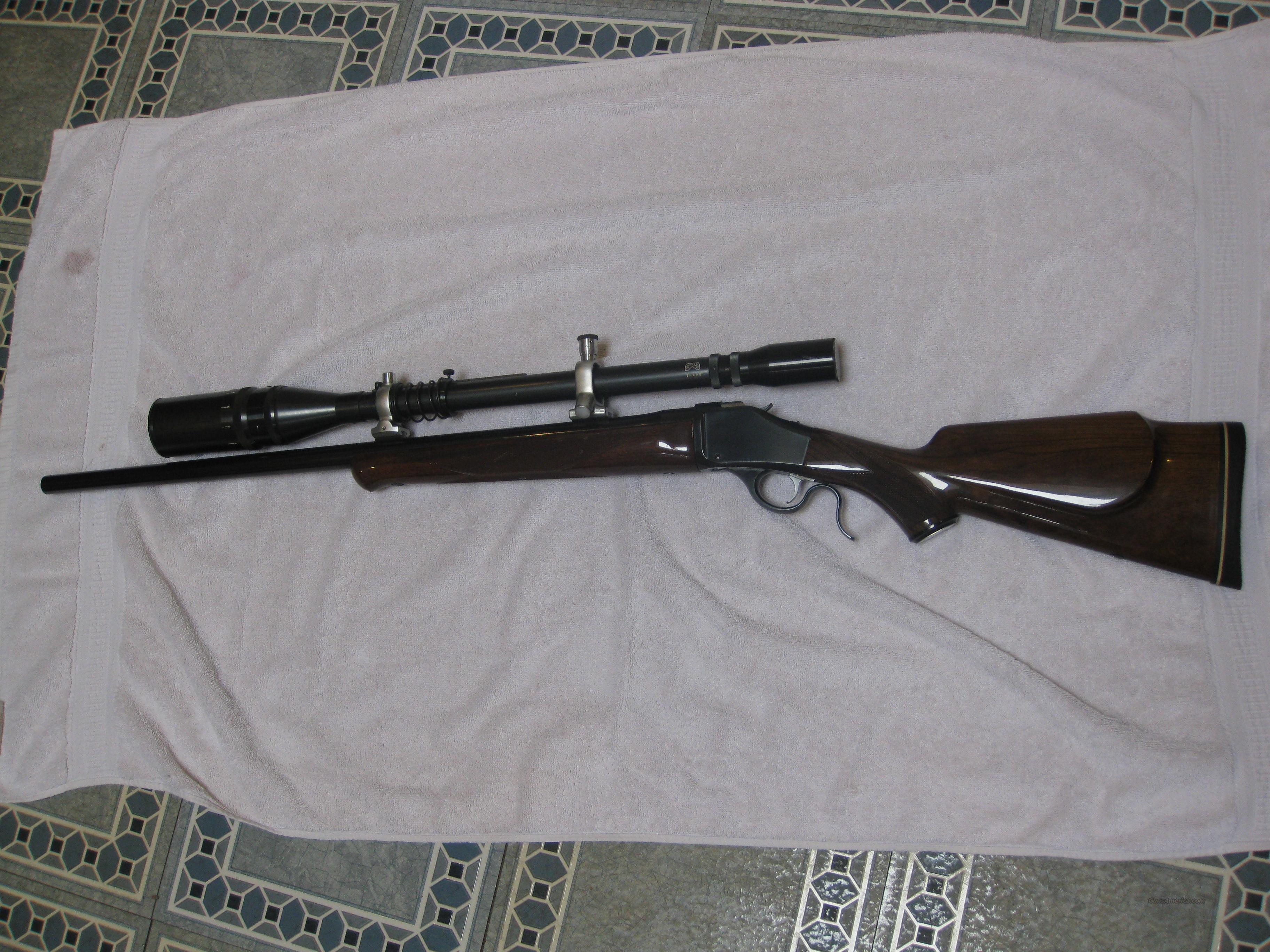 Browning B-78 High Power 22-250 w Unertle Scope  Guns > Rifles > Browning Rifles > Singe Shot