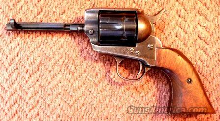 COLT SAA .45 - Made 1901 - less barrel  Guns > Pistols > Colt Single Action Revolvers - 1st Gen.