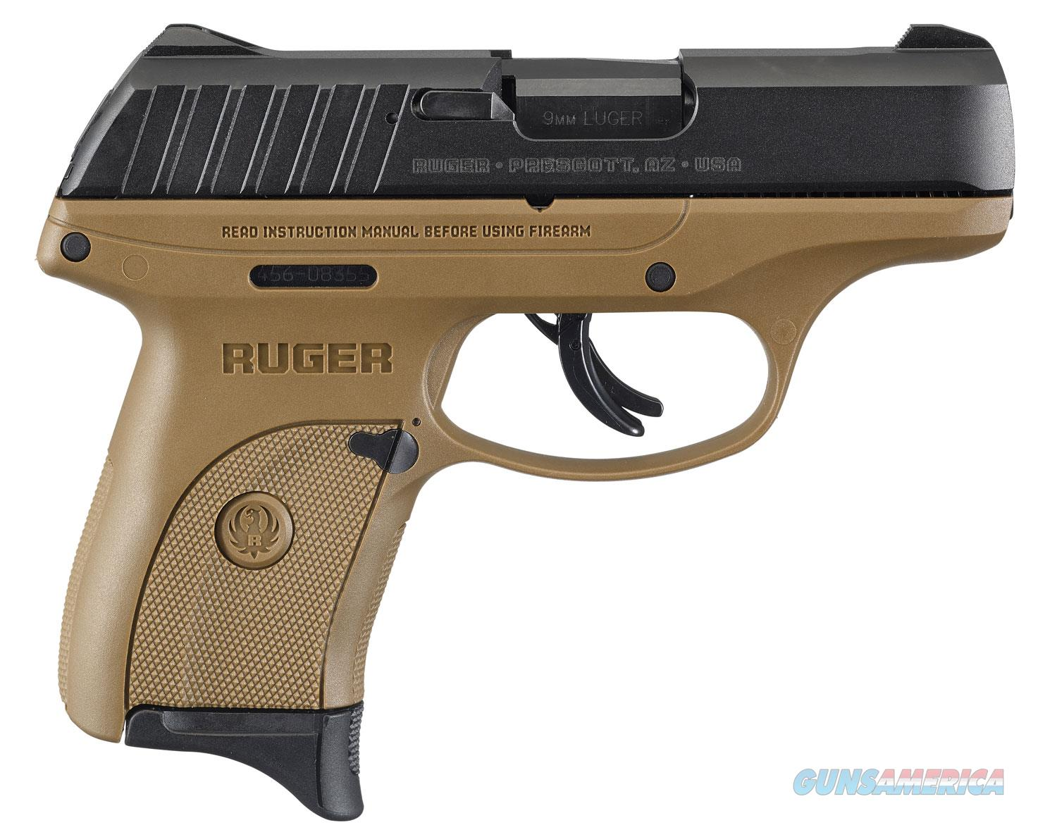 "Ruger EC9s FDE 9mm 3297 7+Ruger EC9s FDE 9mm 3297 7+1 Thumb Safety ""NO CREDIT CARD FEE"" *SUPER DEAL*1 Thumb Safety ""NO CREDIT CARD FEE"" *SUPER DEAL*  Guns > Pistols > Ruger Semi-Auto Pistols > EC9"