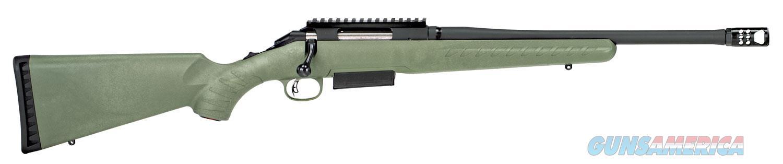 "Ruger American Predator 450 Bushmaster 26980 16.2"" MOSS GREEN ""NO CREDIT CARD FEE"" Muzzle Brake  Guns > Rifles > Ruger Rifles > American Rifle"