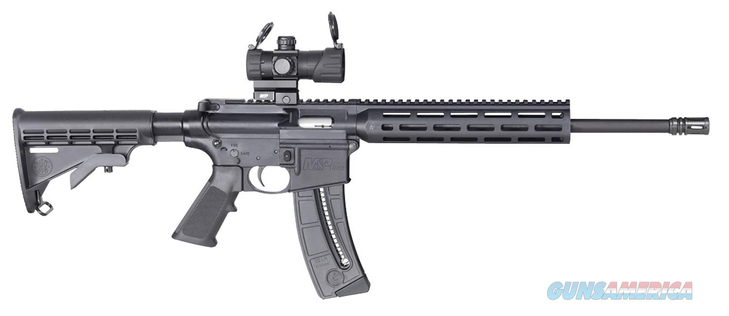 """Smith & Wesson 12722 M&P15-22 22LR 25+1 WITH RED/GREEN DOT """"NO CREDIT CARD FEE""""  Guns > Rifles > Smith & Wesson Rifles > M&P"""