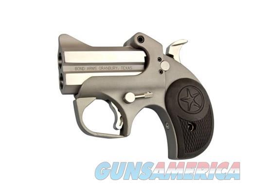 "Bond Arms Rowdy BARW45/410 3"" Black Rubber Grip Polished Stainless ""NO CREDIT CARD FEE""  Guns > Pistols > Bond Derringers"