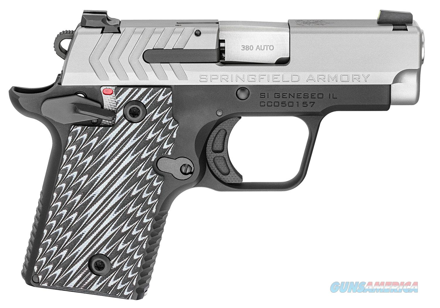 "SPRINGFIELD ARMORY 911 Bio-Tone 380 ACP 6+1 / 7+1 mags Tritium Front / Rear Night Sights ""NO CREDIT CARD FEE""  Guns > Pistols > Springfield Armory Pistols > 911"