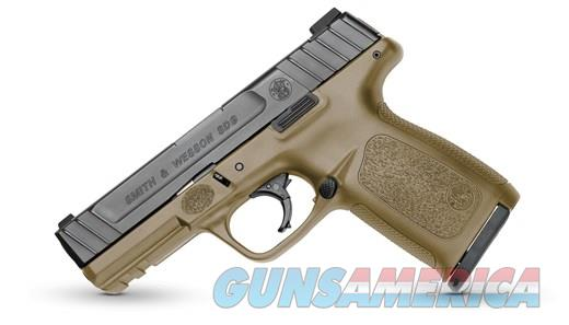 SMITH AND WESSON SD9VE FDE 9MM 16+1 NO CREDIT CARD FEE  Guns > Pistols > Smith & Wesson Pistols - Autos > Polymer Frame