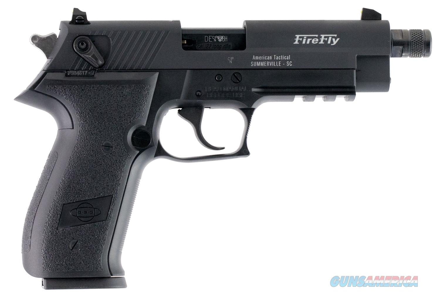 "ATI GSG FIREFLY GERG2210TFF 22LR Adjustable Sights Ambidextrous Safety TB ""NO CREDIT CARD FEE""  Guns > Pistols > American Tactical Imports Pistols"