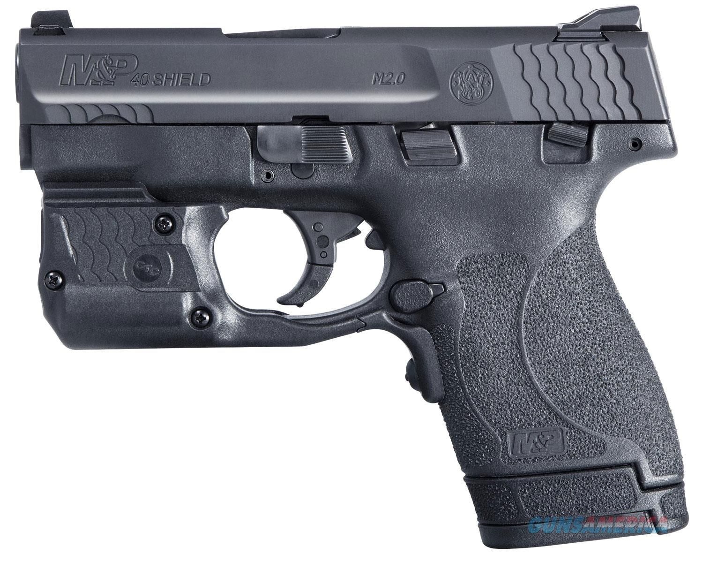 Smith & Wesson M&P 40 Shield M2.0 11817 6+1/7+1 Crimson Trace Green Laserguard Pro laser/light  Guns > Pistols > Smith & Wesson Pistols - Autos > Shield
