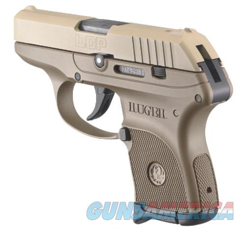 """RUGER LCP 380 ACP FDE 3742 COMES W/SOFT CASE """"NO CREDIT CARD FEE"""" 6+1 magazine  Guns > Pistols > Ruger Semi-Auto Pistols > LCP"""