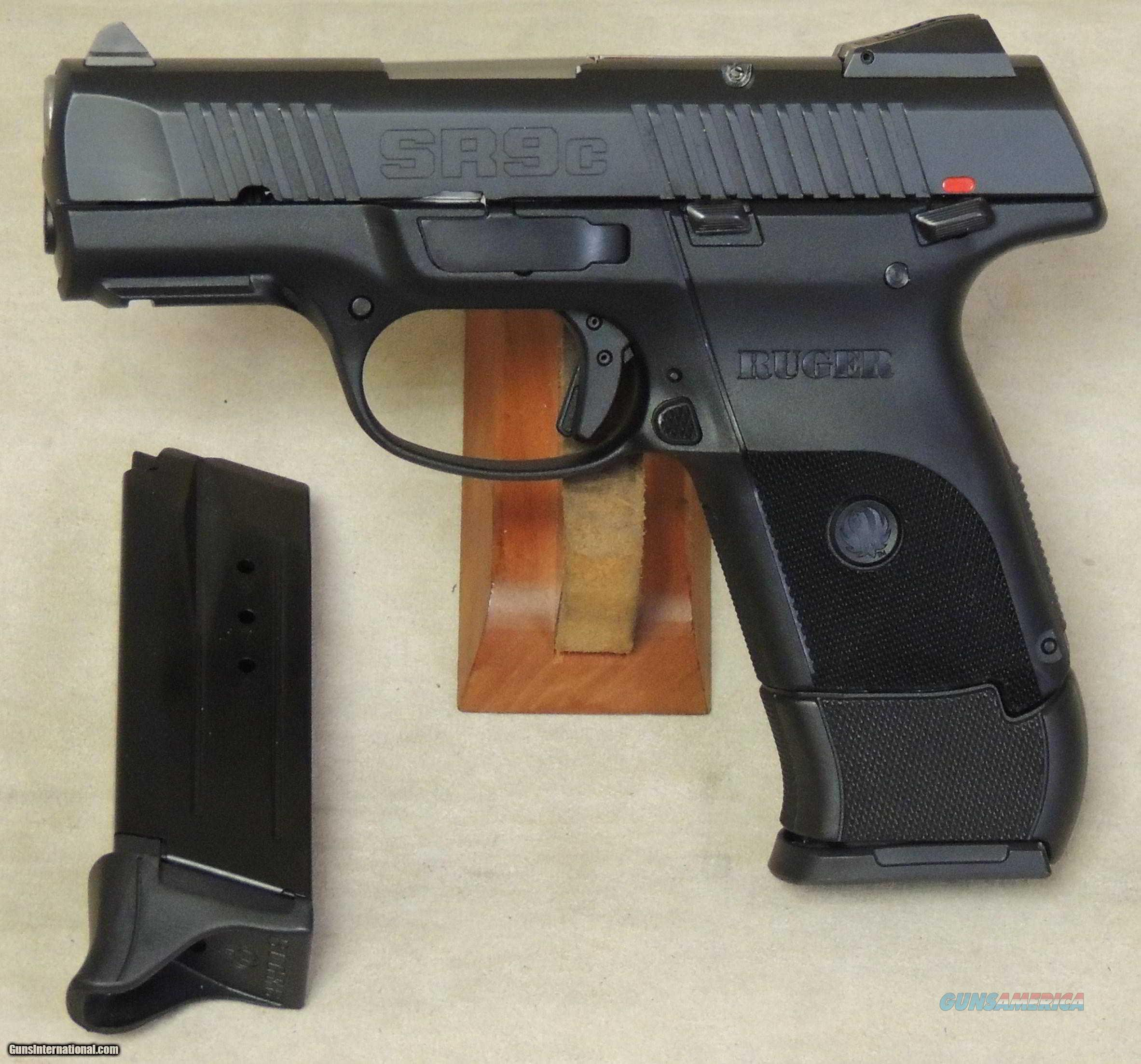 "Ruger SR9C Compact 3314 9mm 17+1/10+1 Mags Thumb Safety ""NO CREDIT CARD FEE"" *New in Box*  Guns > Pistols > Ruger Semi-Auto Pistols > SR Family > SR9C"