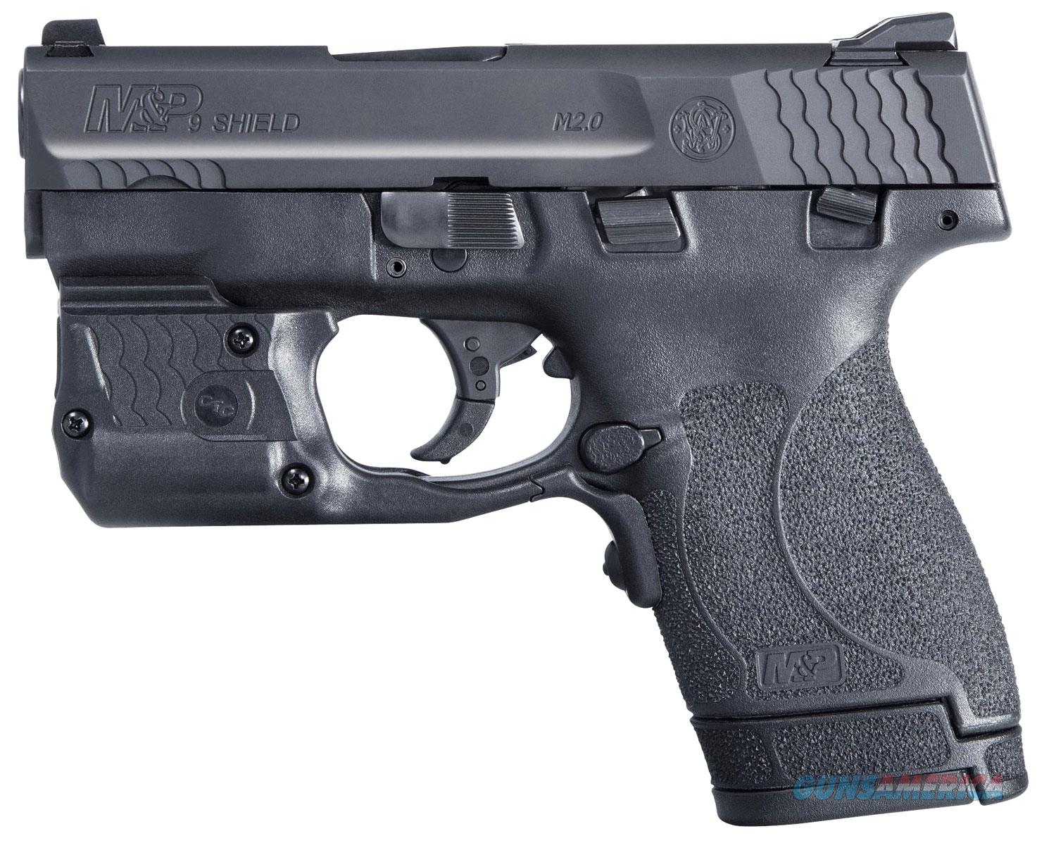 Smith & Wesson M&P9 Shield M2.0 11811 9mm 7+1/8+1 Crimson Trace Green Laserguard Pro laser/light  Guns > Pistols > Smith & Wesson Pistols - Autos > Shield