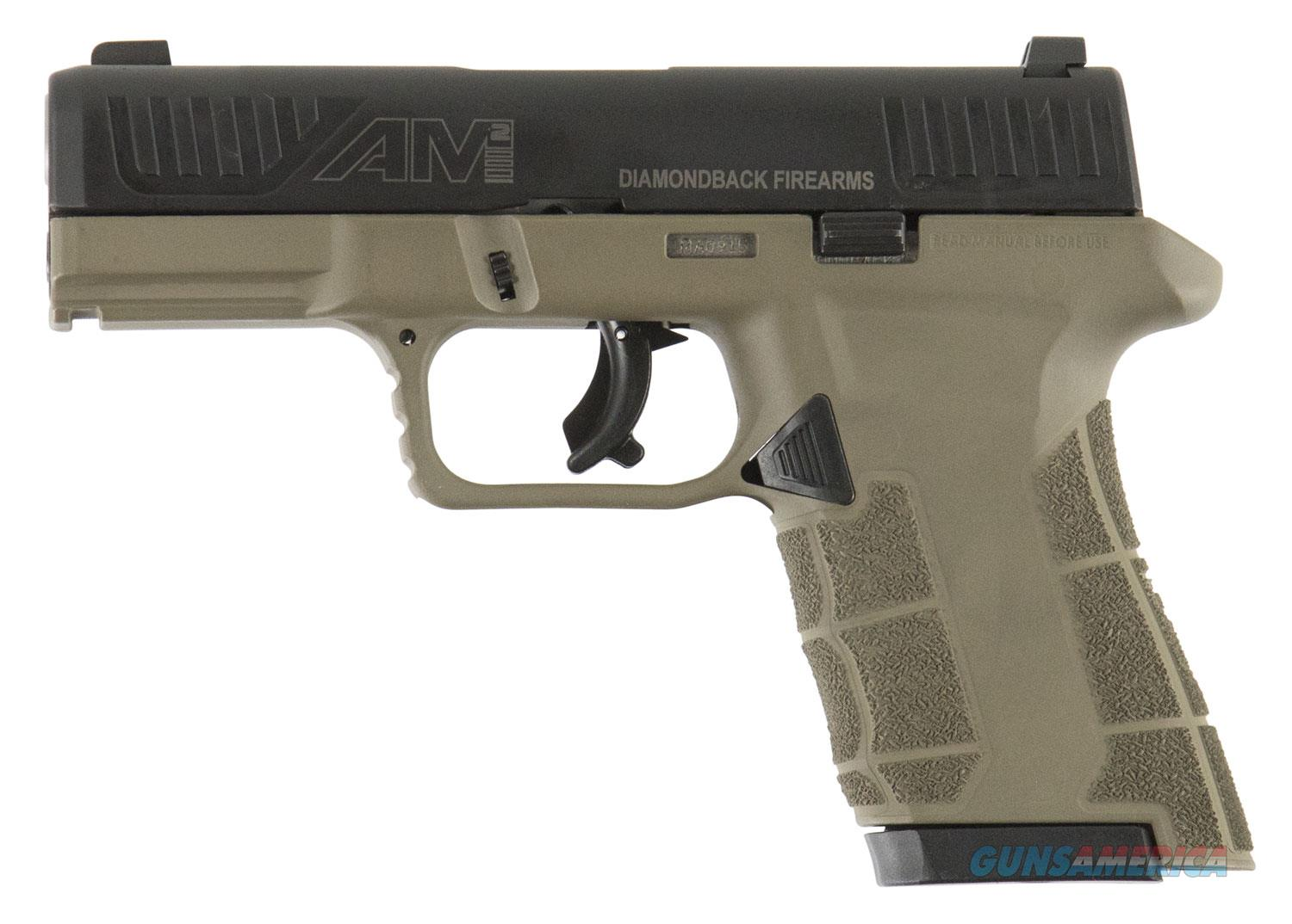 "Diamondback DBAM29FDE 9mm compact 17+1/12+1 Mags *WHAT A DEAL* ""NO CREDIT CARD FEE""  Guns > Pistols > Diamondback Pistols"