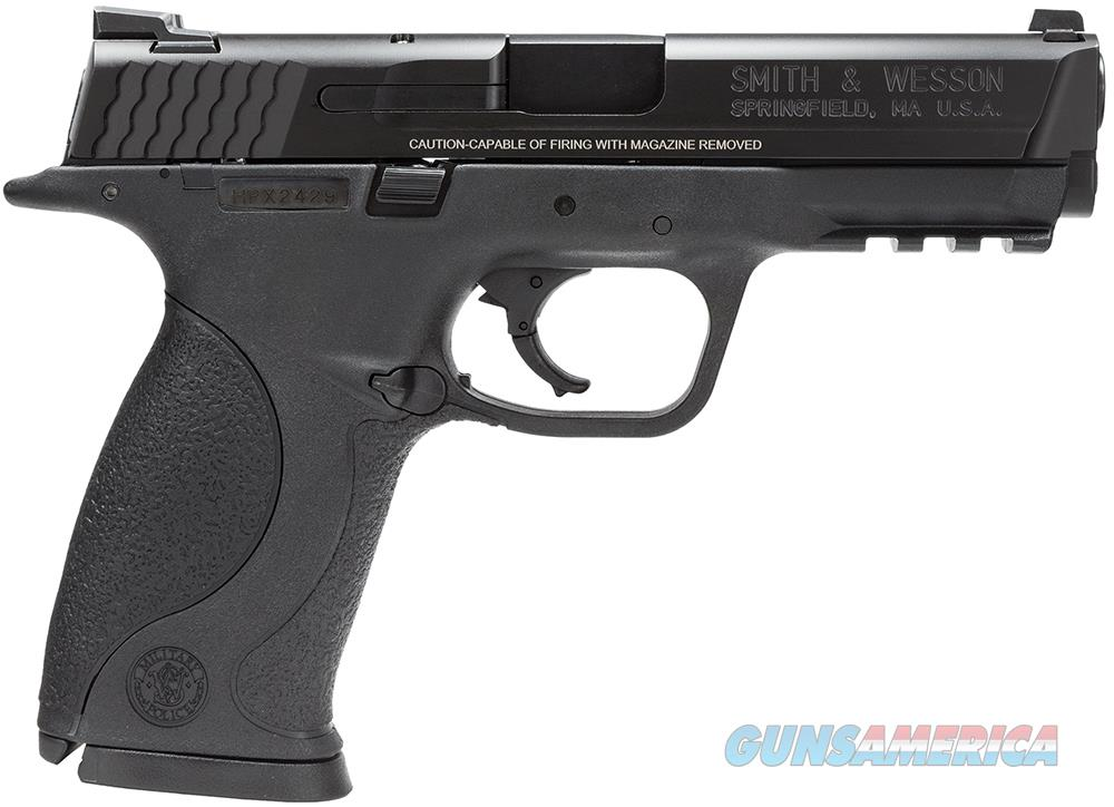 "Smith & Wesson M&P 9mm 17+1 209301 No Thumb Safety Interchangeable Backstrap ""NO CREDIT CARD FEE""  Guns > Pistols > Smith & Wesson Pistols - Autos > Polymer Frame"