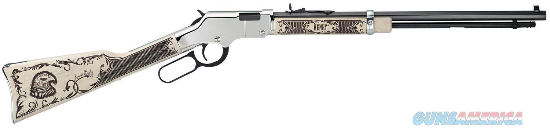 "Henry H004AE Golden Boy Silver American Eagle 22LR/22SH/22L 20"" Octagon barrel ""NO CREDIT CARD FEE""   Guns > Rifles > Henry Rifle Company"