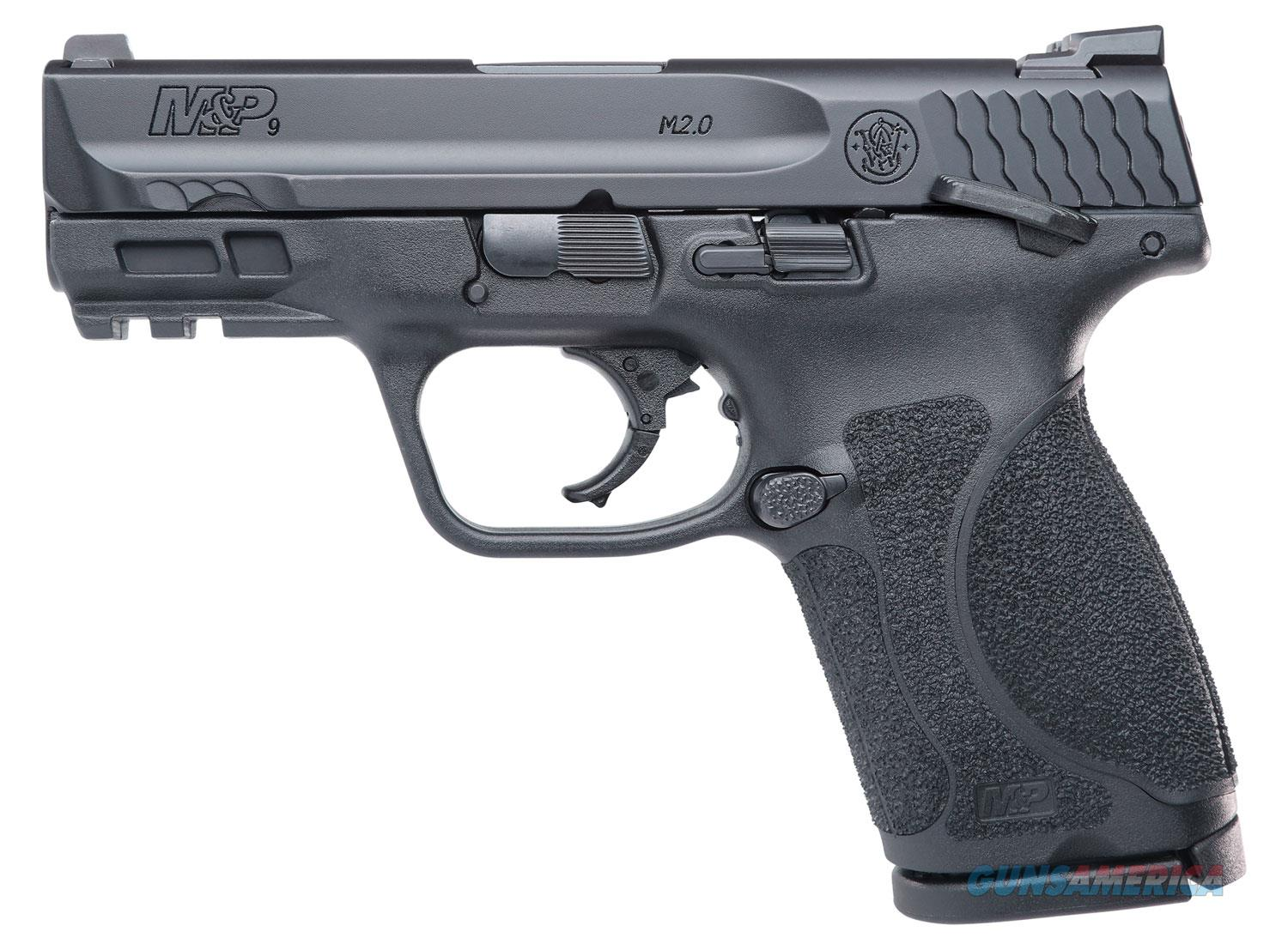"""SMITH AND WESSON M&P9 M2.0 COMPACT 3.6"""" SAFETY NO CREDIT CARD FEE   Guns > Pistols > Smith & Wesson Pistols - Autos > Polymer Frame"""