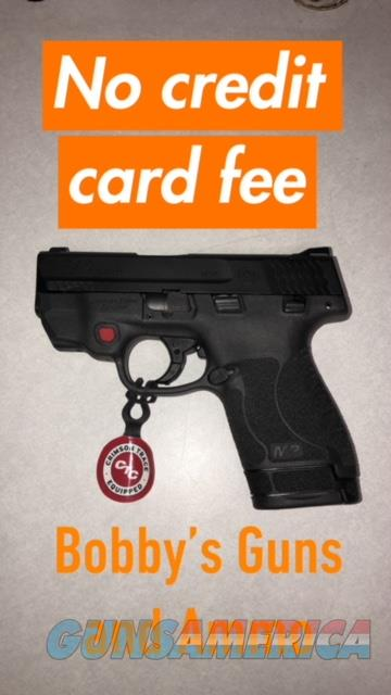 SMITH AND WESSON M&P9 SHIELD M2.0 9MM CRIMSON TRACE LASER SAFETY NO CREDIT CARD FEE  Guns > Pistols > Smith & Wesson Pistols - Autos > Shield