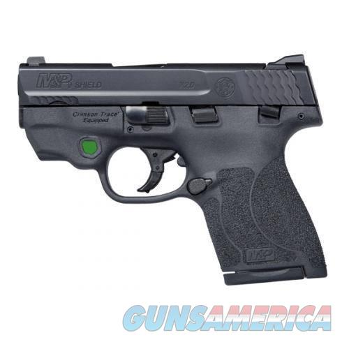 """SMITH AND WESSON M&P9mm SHIELD 11901 M2.0 SAFETY GREEN CT LASER """"NO CREDIT CARD FEE""""  Guns > Pistols > Smith & Wesson Pistols - Autos > Shield"""