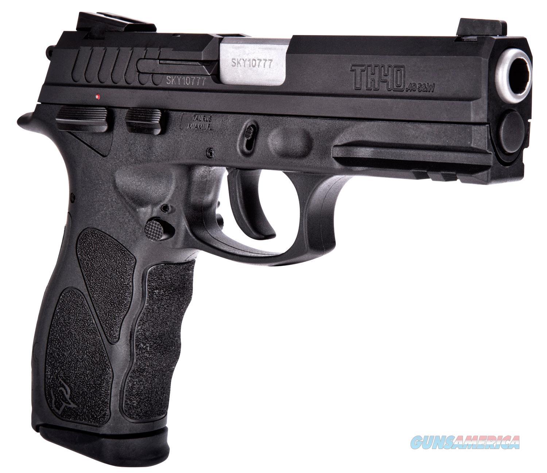 "Taurus TH40 1TH40041 40 S&W Single/Double 15+1 2- Mag, Extra BackStaps & Speedloader ""NO CC FEE""  Guns > Pistols > Taurus Pistols > Semi Auto Pistols > Polymer Frame"