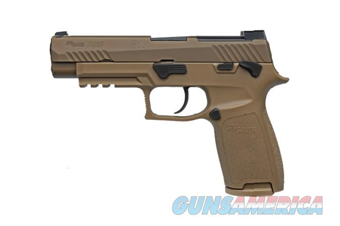 """Sig Sauer P320 M17 9mm 17+1 4.7"""" NIGHT SIGHTS Coyote PVD Finish """"NO CREDIT CARD FEE"""" *SUPER DEAL*  Guns > Pistols > Sig - Sauer/Sigarms Pistols > P320"""