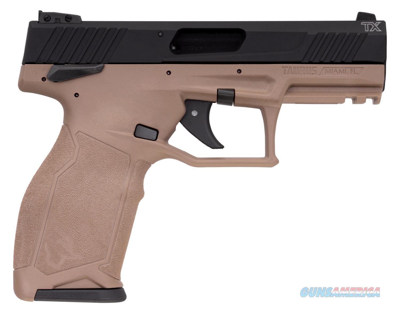 "TAURUS TX22 22 LR FDE 1TX22141F (2) 16 round mags Thumb Safety  ""NO CREDIT CARD FEE""  Guns > Pistols > Taurus Pistols > Semi Auto Pistols > Polymer Frame"