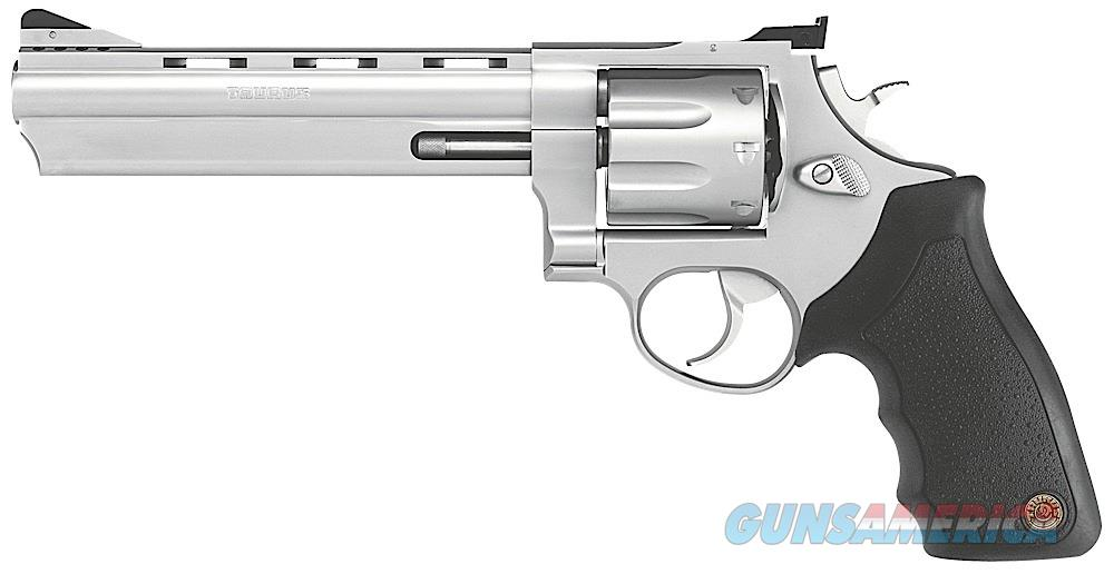 "Taurus 2-608069 608 357mag 8-shot 6.5"" Stainless Ported Barrel, Rubber Grip ""NO CREDIT CARD FEE""  Guns > Pistols > Taurus Pistols > Revolvers"