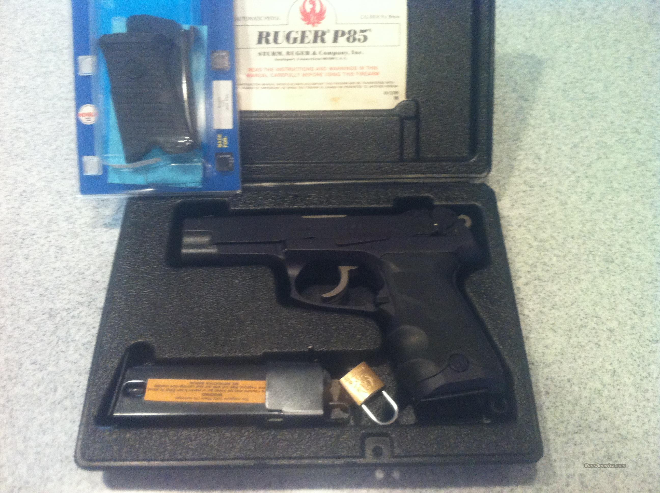 RUGER P85 9MM  $$$$$PRICE LOWERED$$$$$  Guns > Pistols > Ruger Semi-Auto Pistols > P-Series