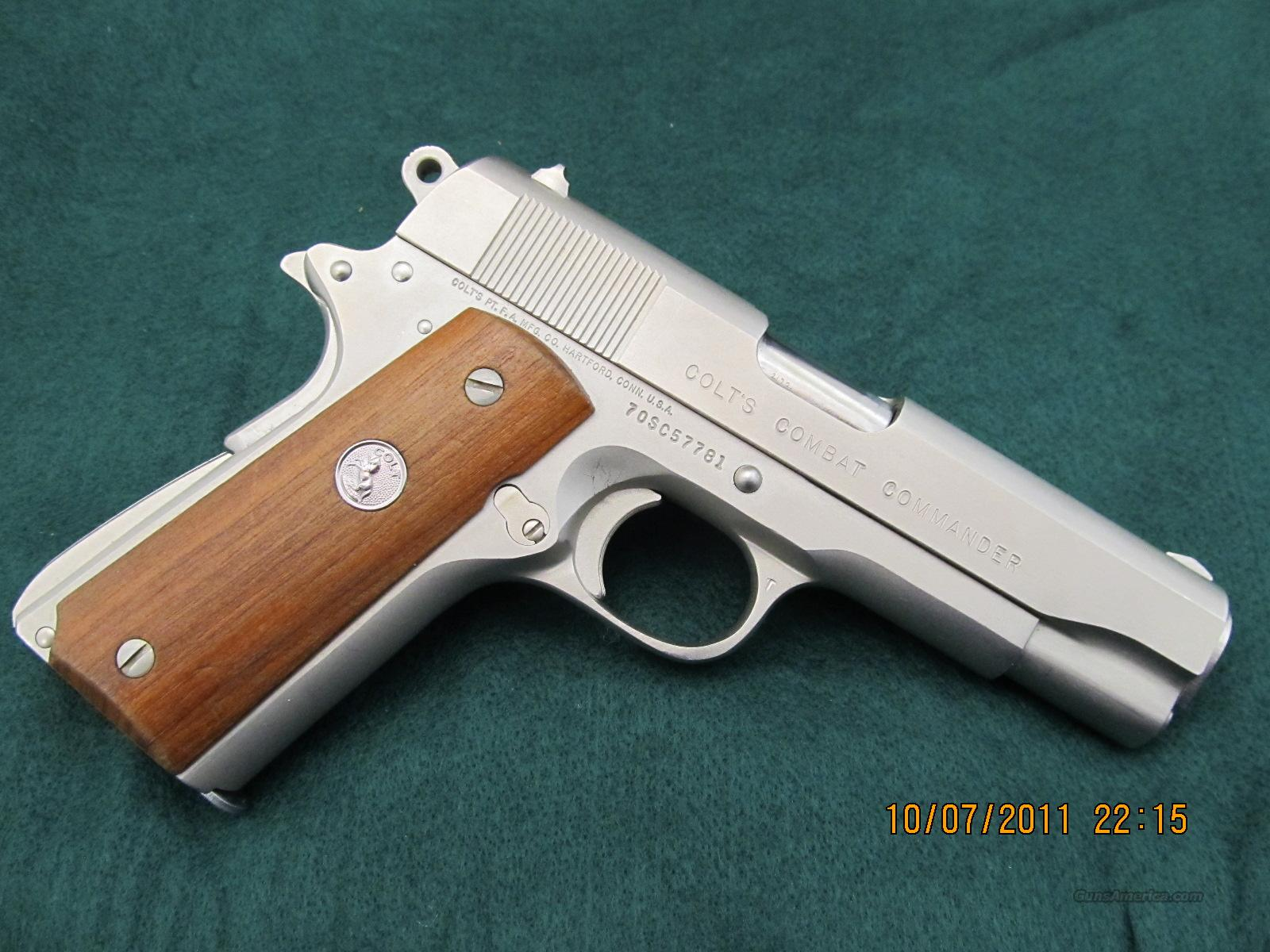 MODEL 70 SERIES COLT 45 ACP COMMANDER  Guns > Pistols > Colt Automatic Pistols (1911 & Var)
