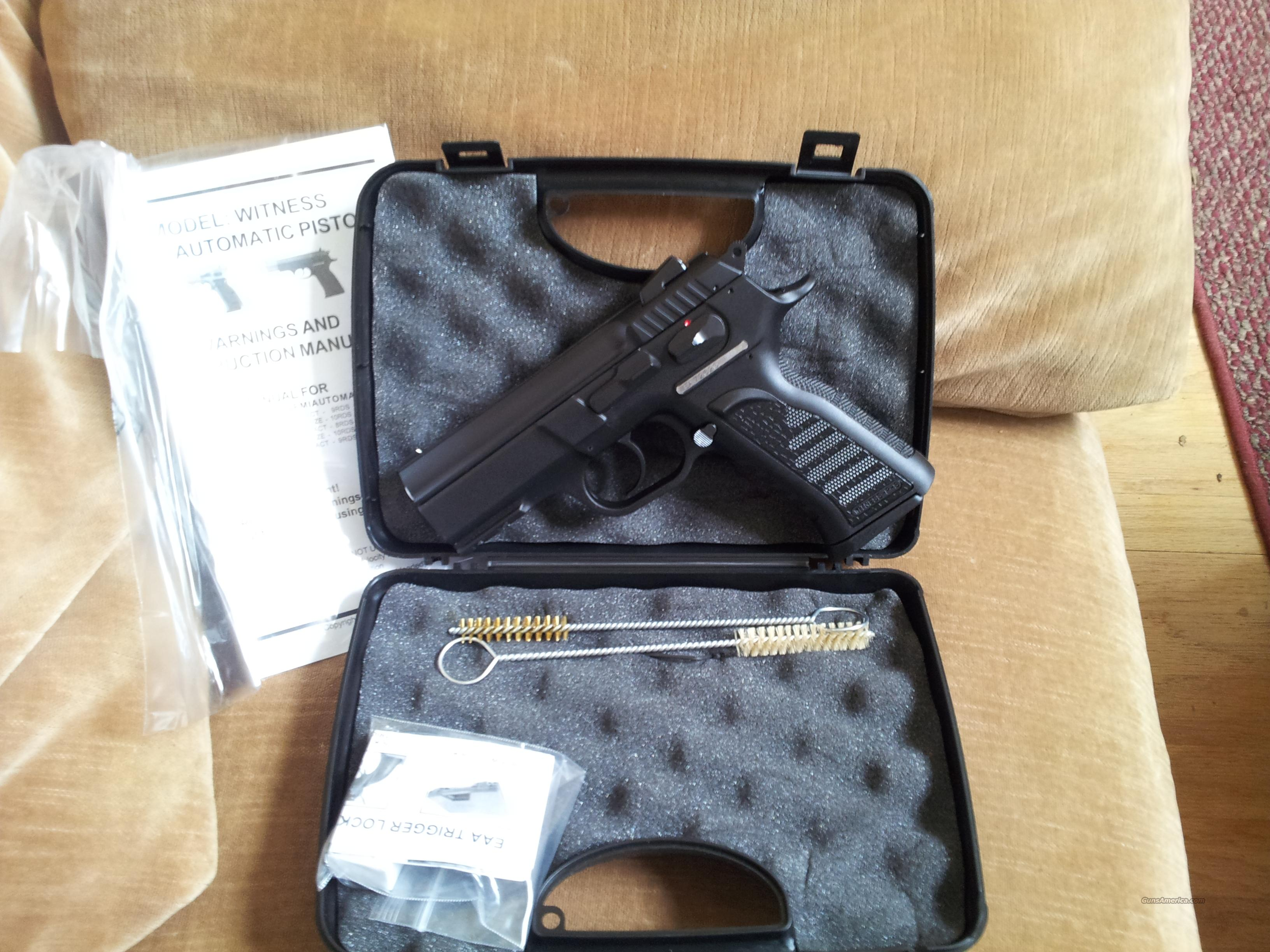 EAA WITNESS P 9MM DA 3.6B 16RD  Guns > Pistols > EAA Pistols > Other
